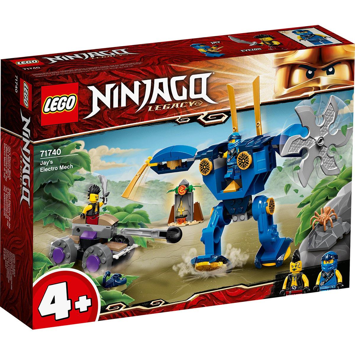LEGO® Ninjago® - Robotul Electro al lui Jay (71740)