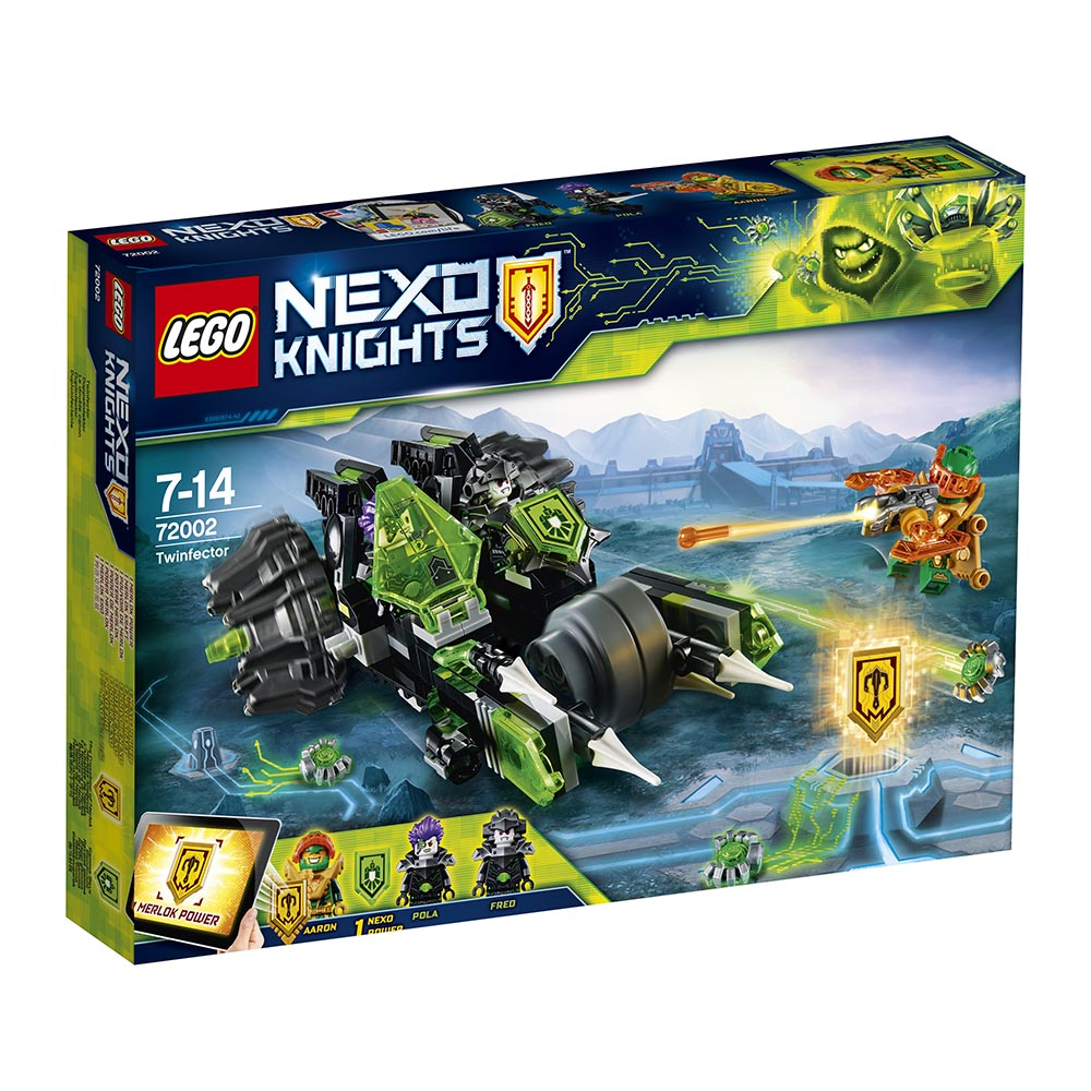 lego® nexo knights - twinfector (72002)