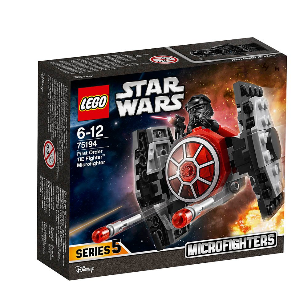 LEGO® Star Wars™ - TIE Fighter al Ordinului Intai Microfighter (75194)