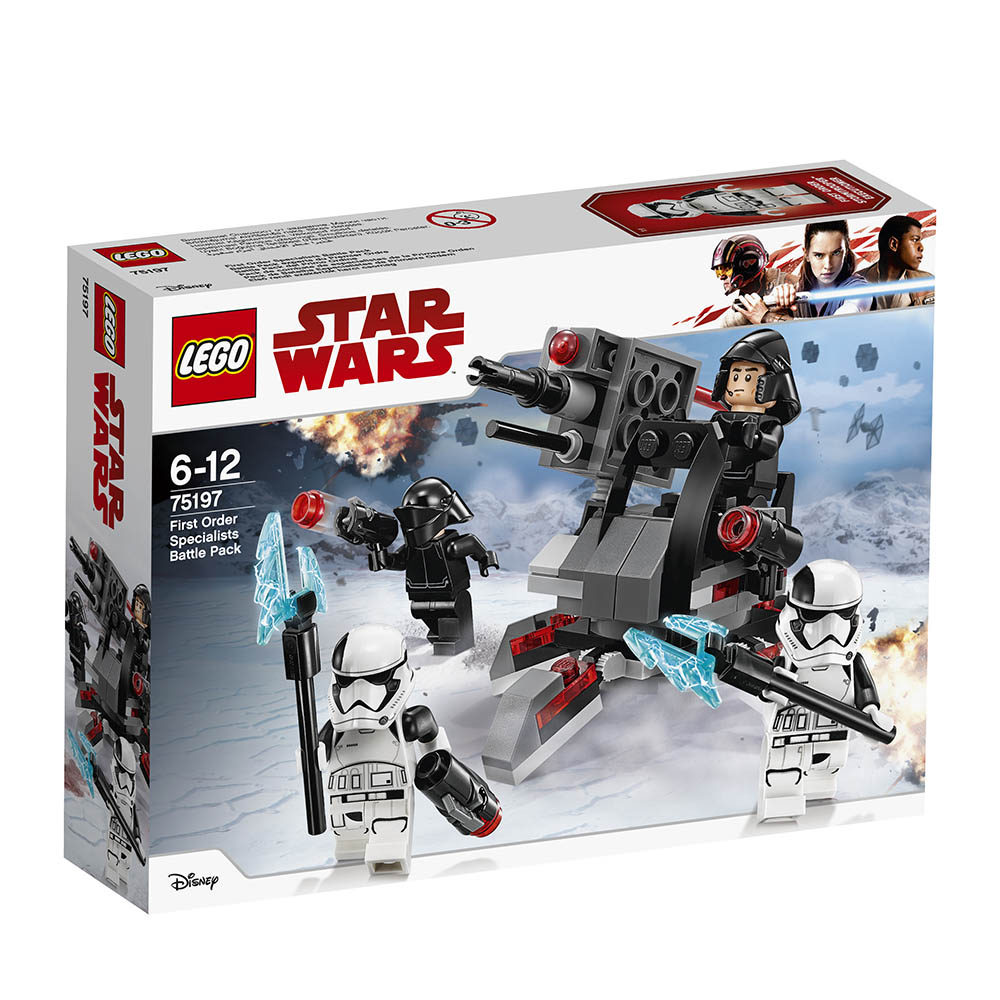 lego® star wars™ pachetul de lupta al specialistilor ordinului intai (75197)