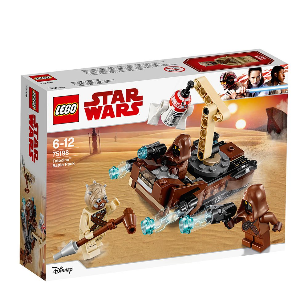 lego® star wars™ - pachetul de lupta tatooine (75198)