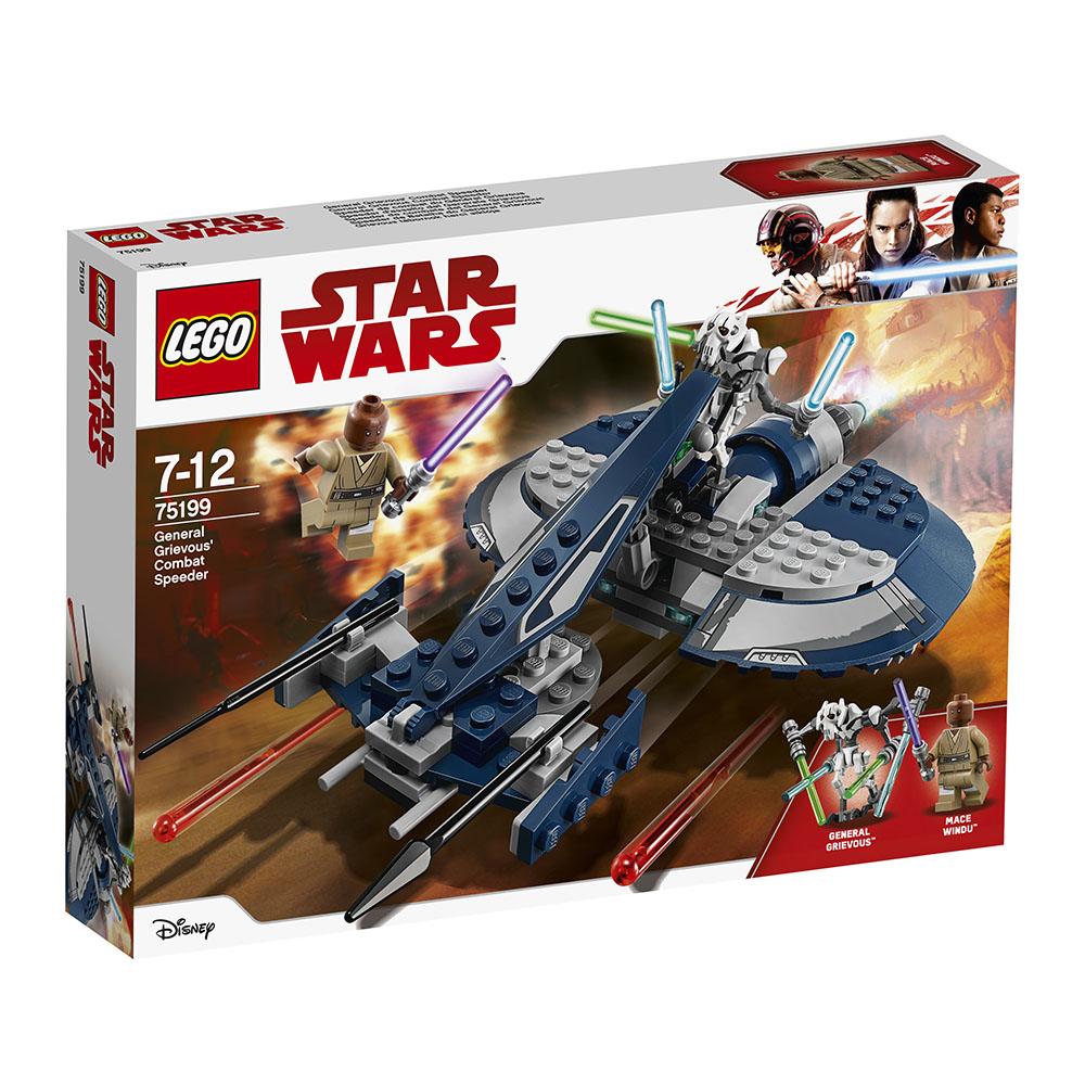 lego® star wars™ speeder-ul de lupta al generalului grievous (75199)