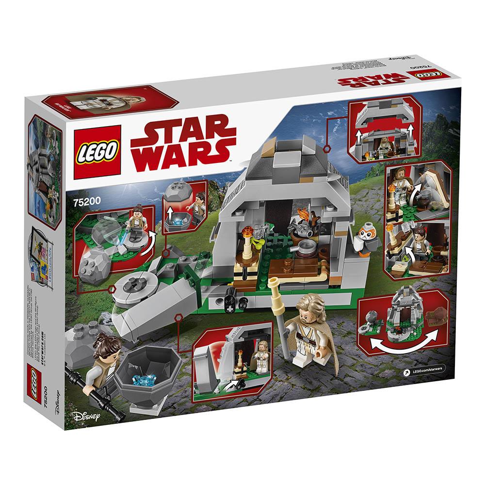 lego® star wars™ - antrenamentul de pe ahch-to island (75200)