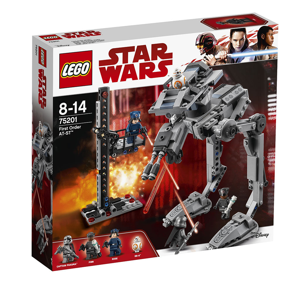 lego® star wars™ - at-st ordinul intai (75201)