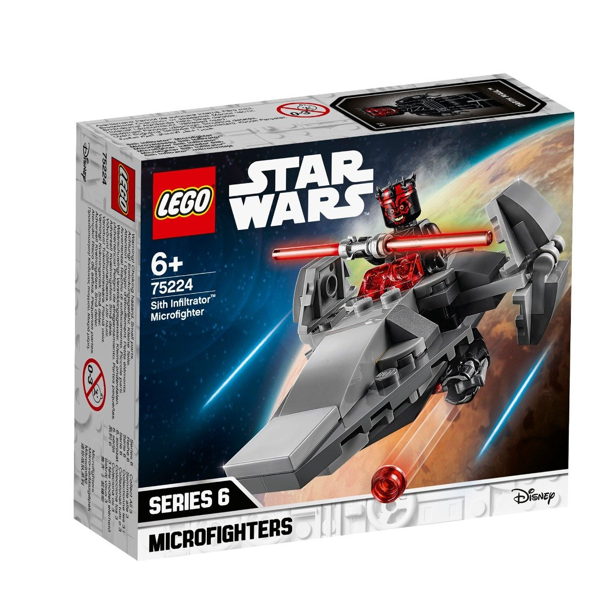 LEGO® Star Wars™ - Sith Infiltrator™ Microfighter (75224)