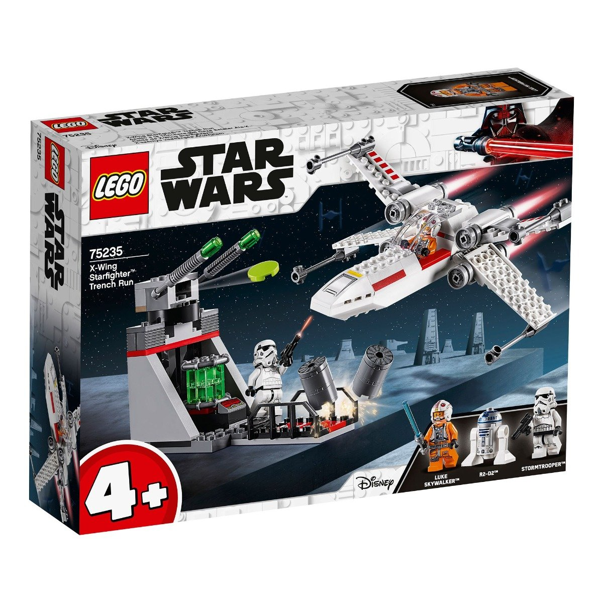 LEGO® Star Wars™ - X-Wing Starfighter™ Santul de alergare (75235)