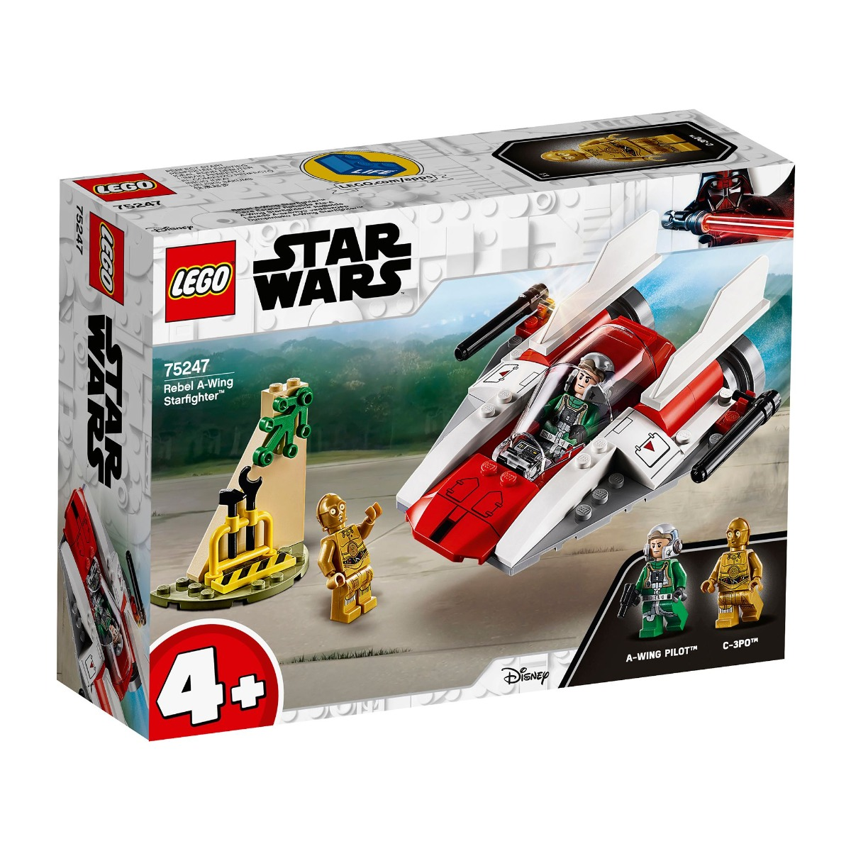 LEGO® Star Wars™ - Rebel A-Wing Starfighter™ (75247)