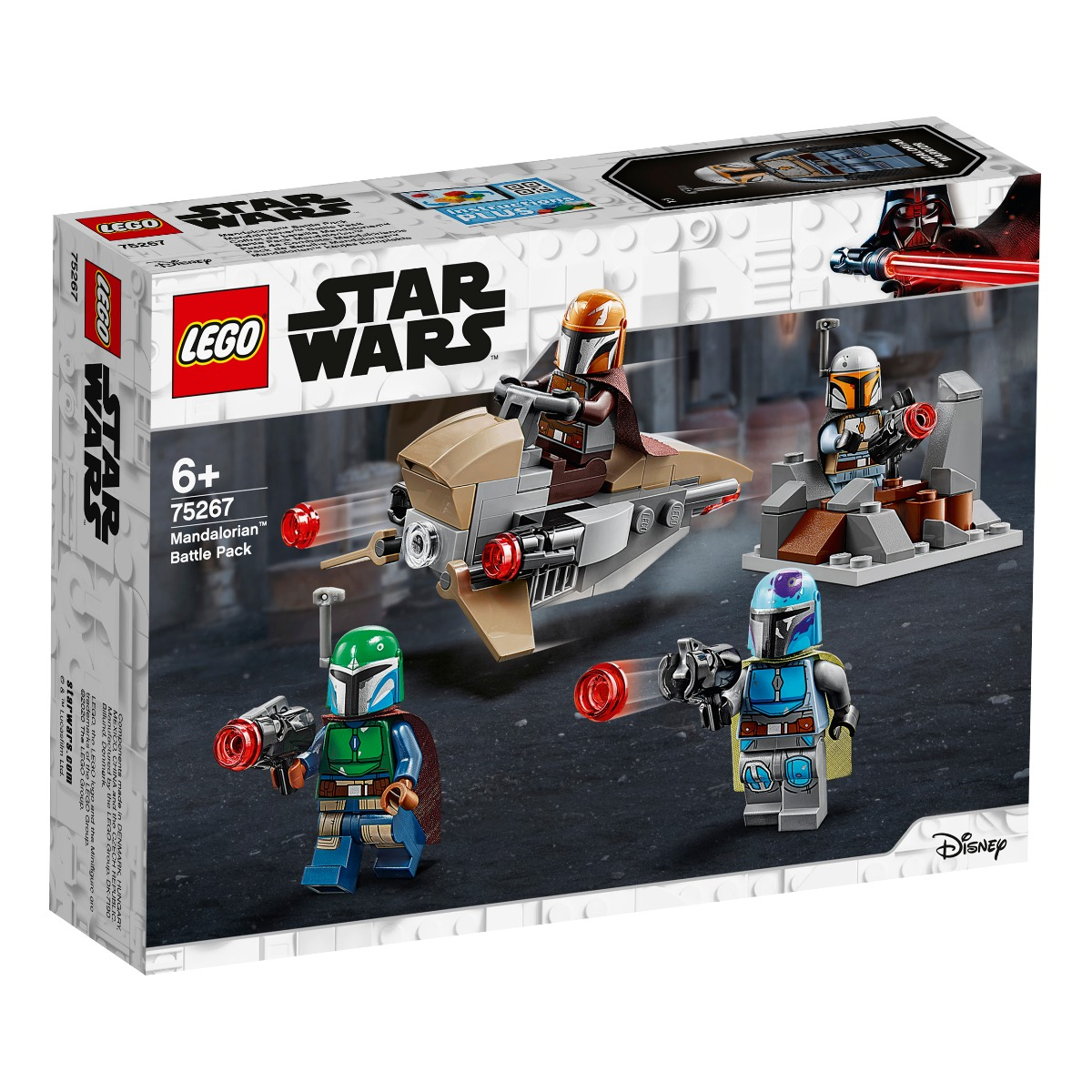 LEGO® Star Wars™ - Pachet de lupte Mandalorian (75267)