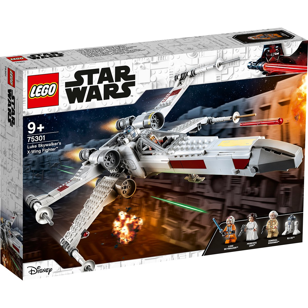 LEGO® Star Wars™ - X-Wing Fighter al lui Luke Skywalker (75301)