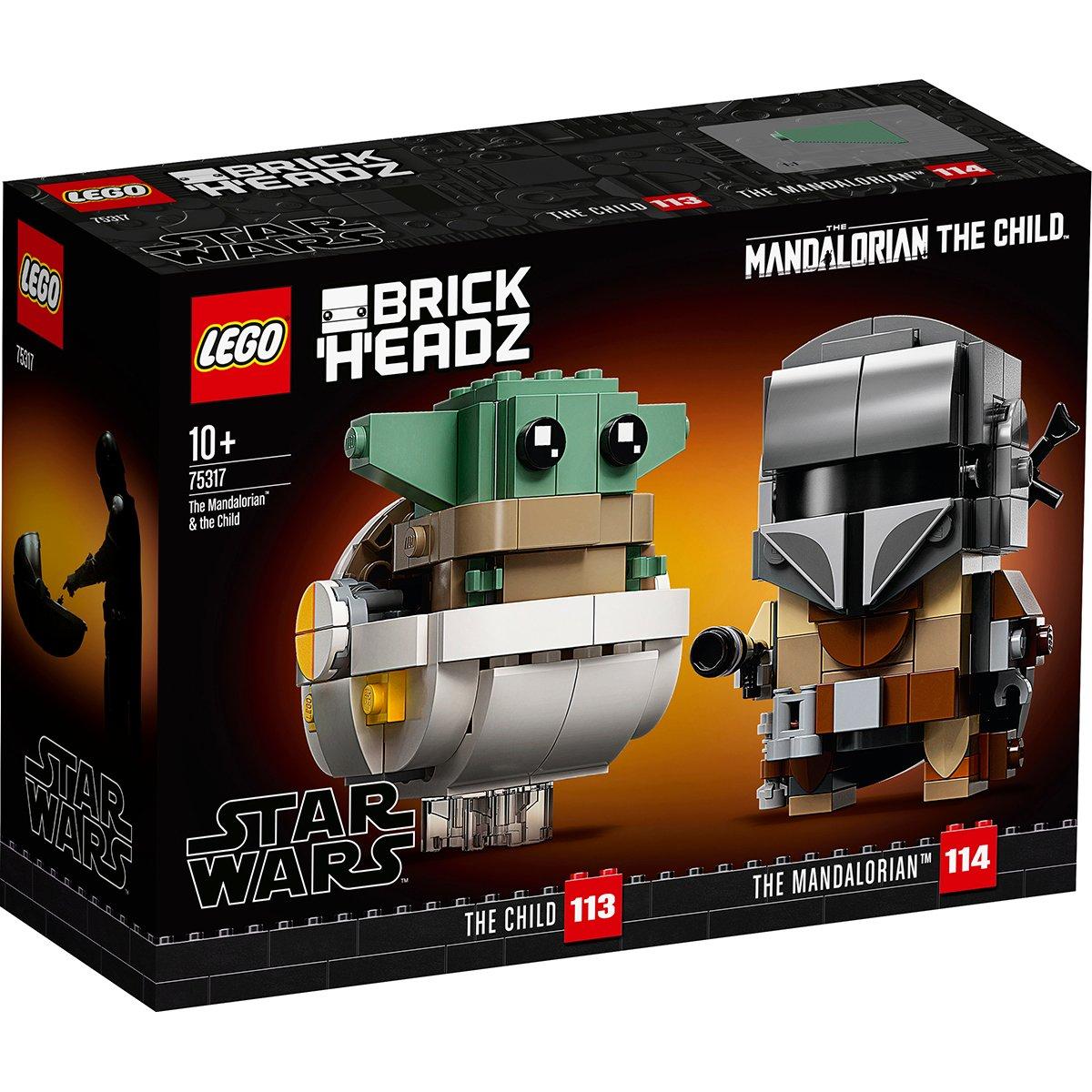 LEGO® Star Wars™ - Mandalorian si Copilul (75317)