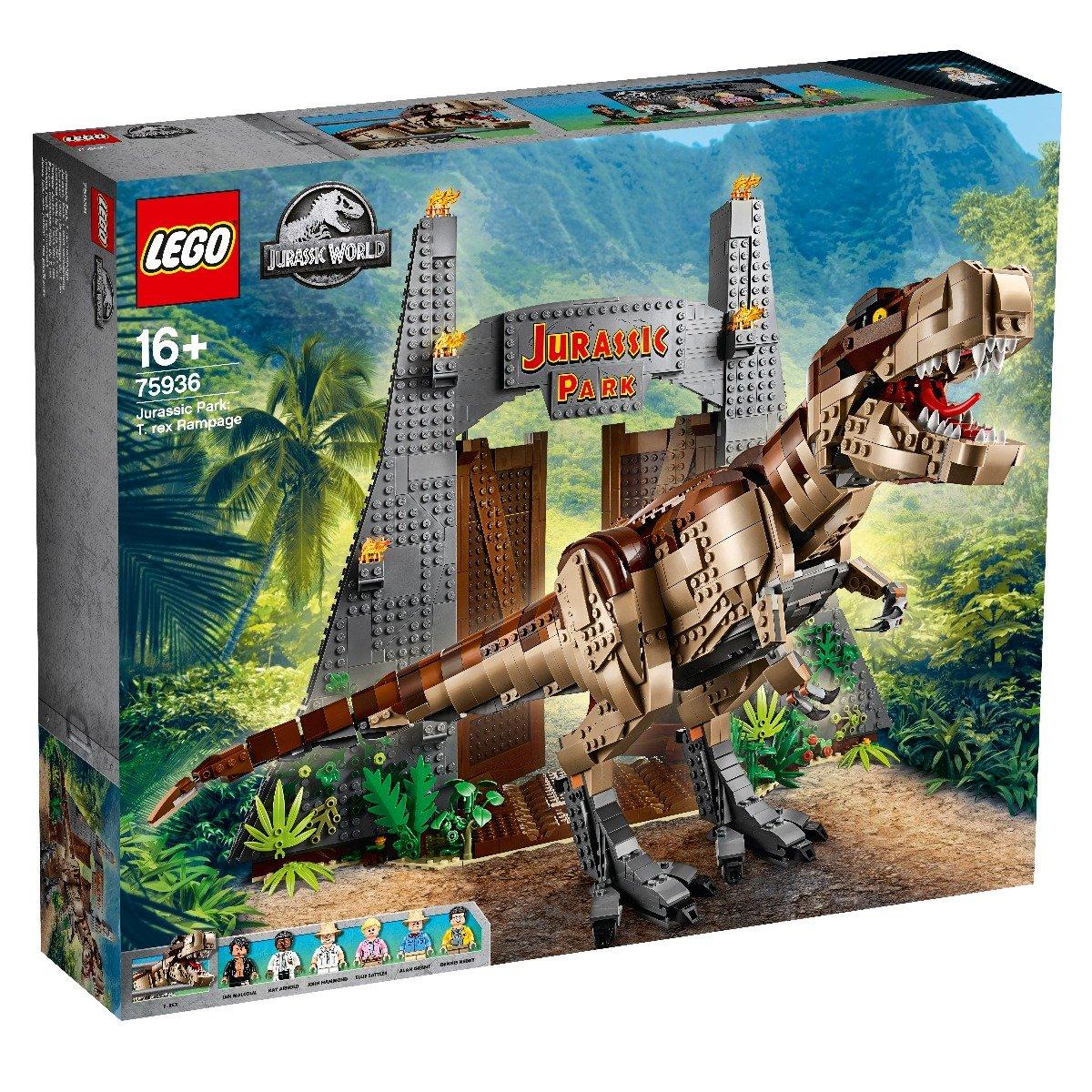 LEGO® Jurassic World - Parcul Jurassic: Furia T. Rex (75936)