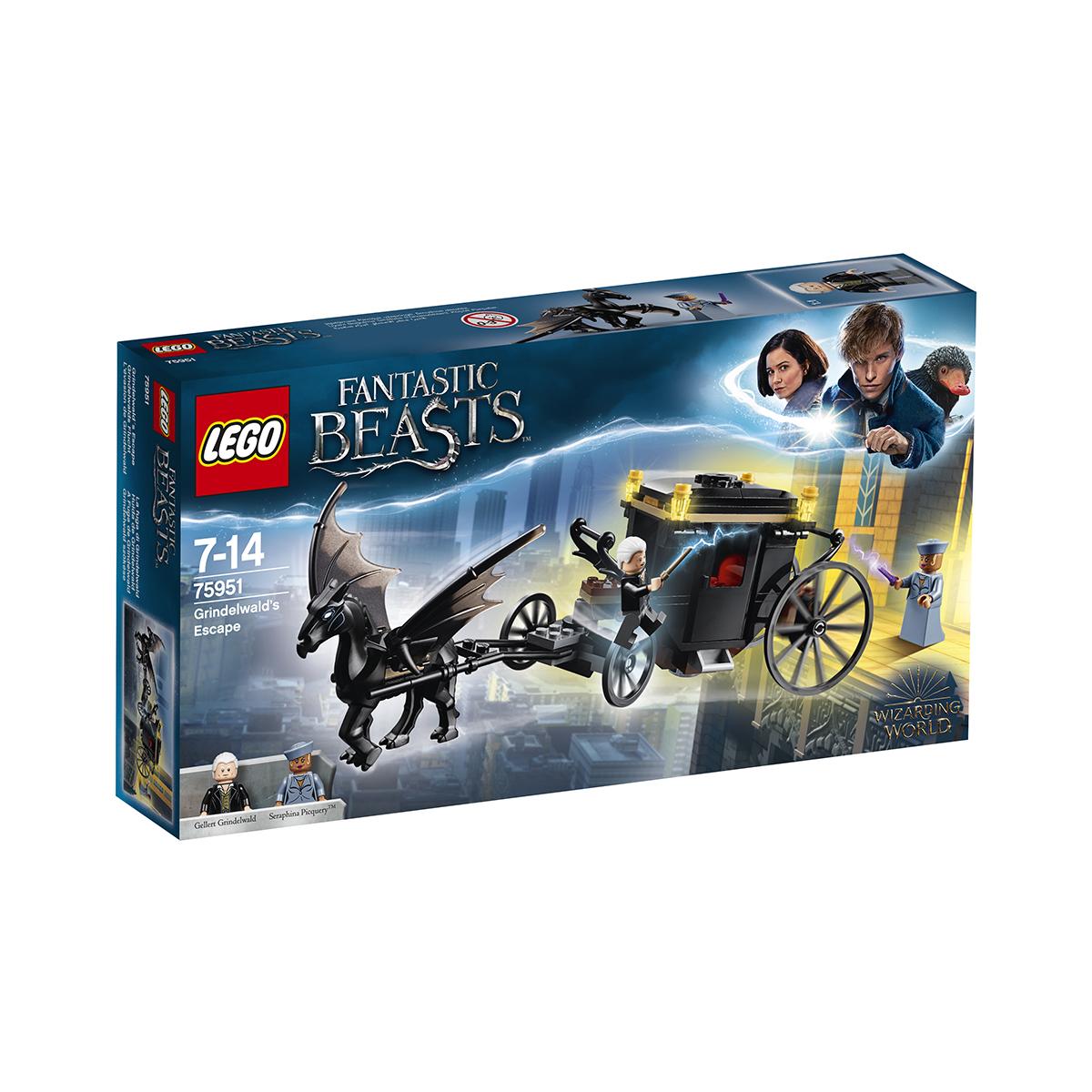 LEGO® Harry Potter™ - Evadarea lui Grindewald (75951)