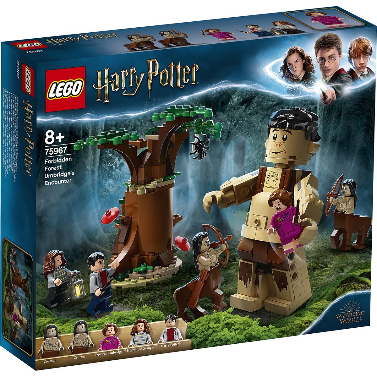 LEGO® Harry Potter™ - Padurea interzisa: intalnirea dintre Grawp si Umbridge (75967)