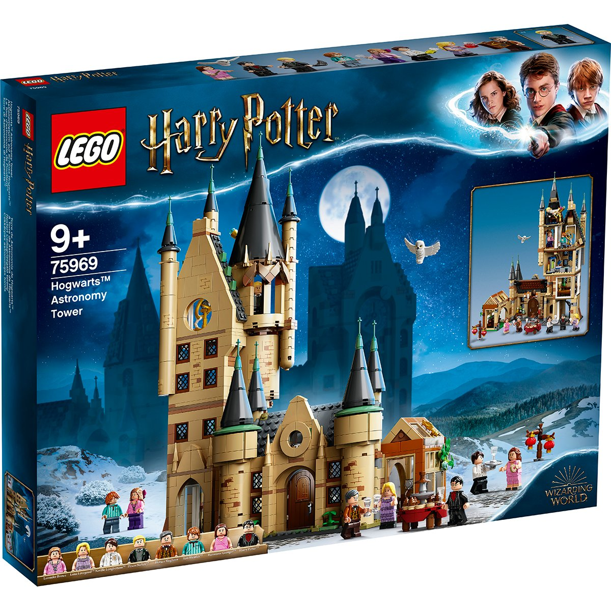 LEGO® Harry Potter™ - Turnul astronomic Hogwarts™ (75969)