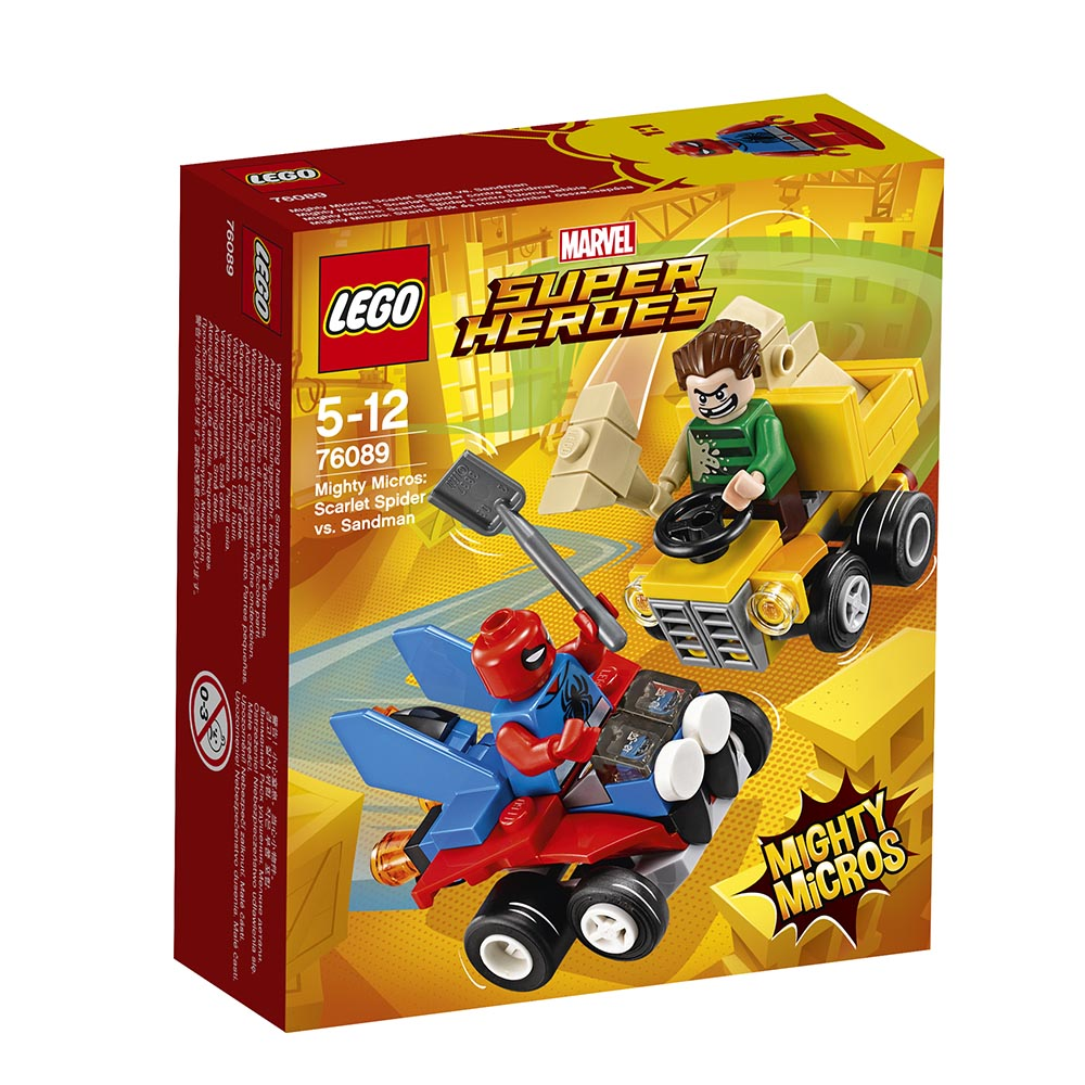 lego® super heroes mighty micros - scarlet spider contra sandman (76089)
