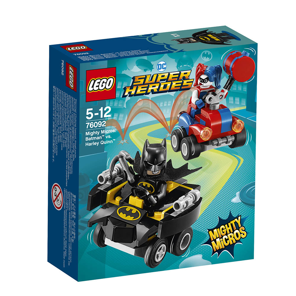 lego® super heroes mighty micros - batman contra harley quinn (76092)