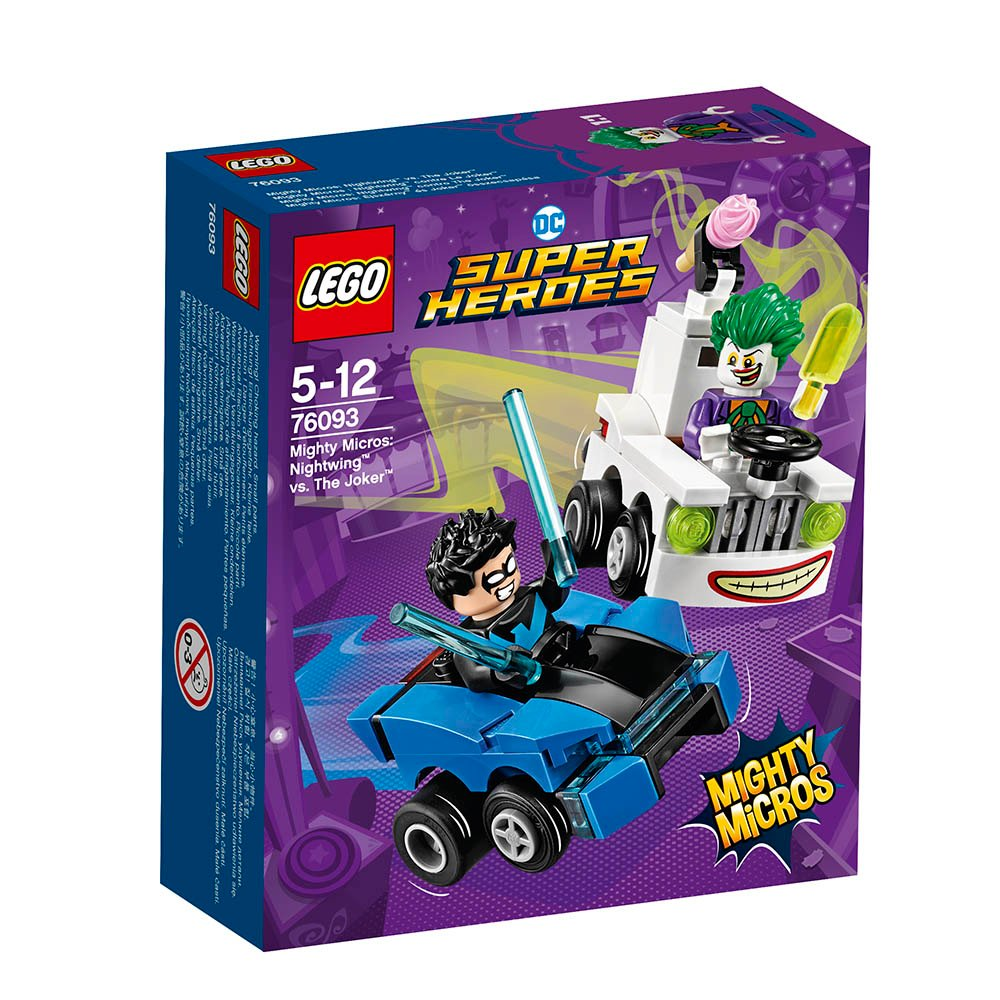 lego® super heroes mighty micros - nightwing contra the joker (76093)