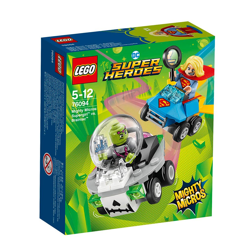 lego® super heroes mighty micros - supergirl contra brainiac (76094)