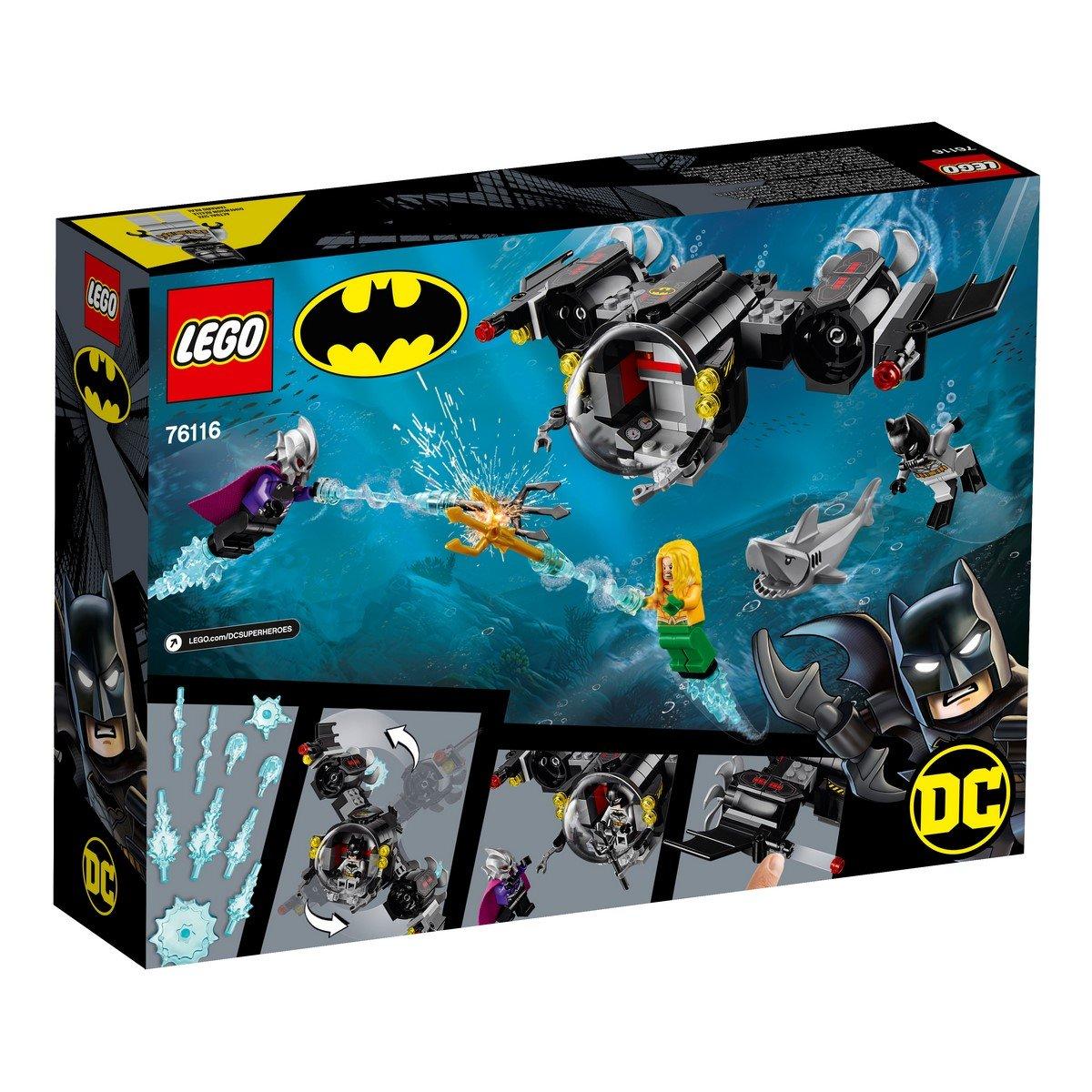 LEGO® DC Super Heroes - Batsubmarinul Batman™ si conflictul subacvatic (76116)