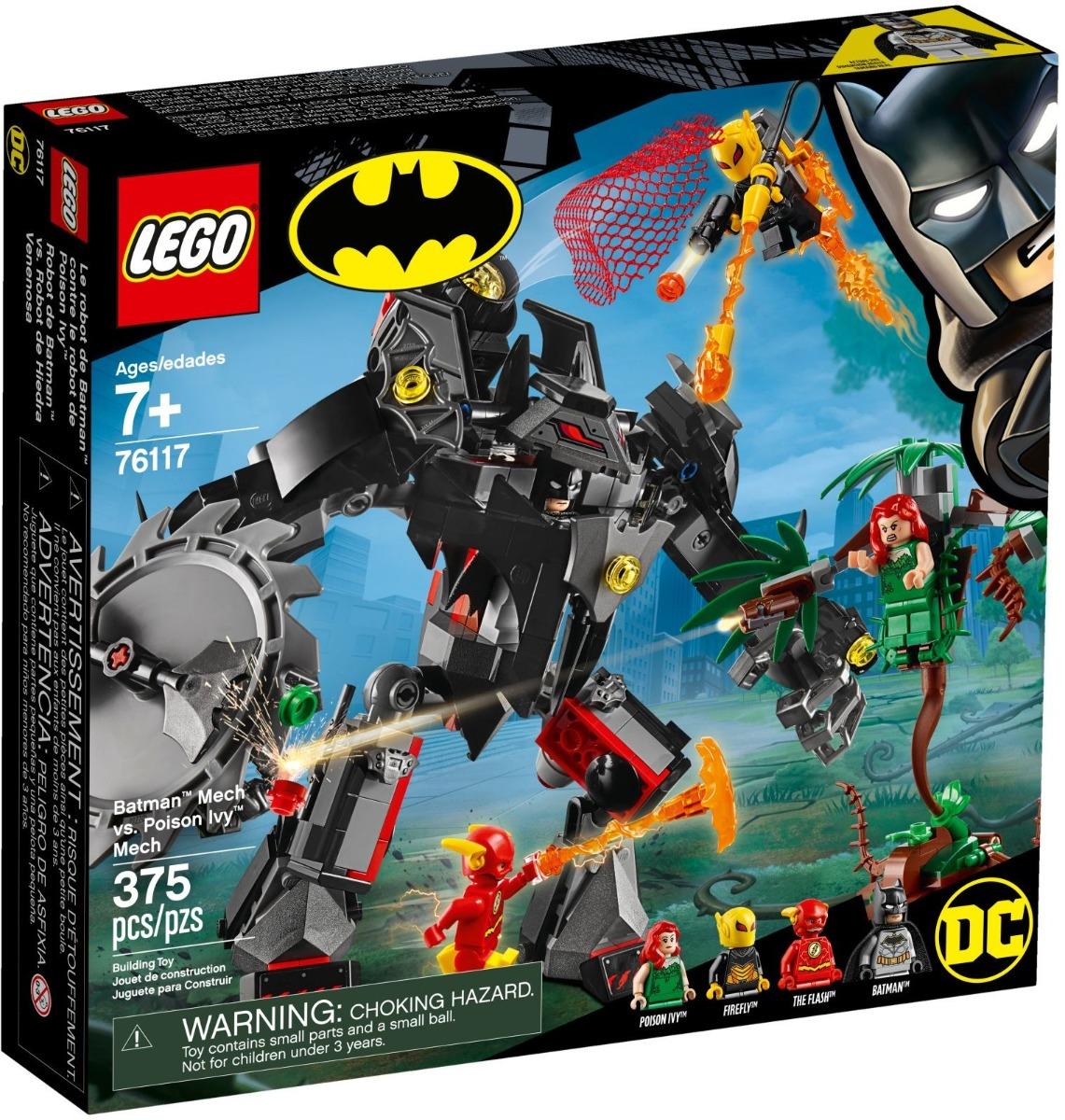 Poza LEGO® DC Super Heroes - Robotul Batman™ contra Robotul Poison Ivy™ (76117)