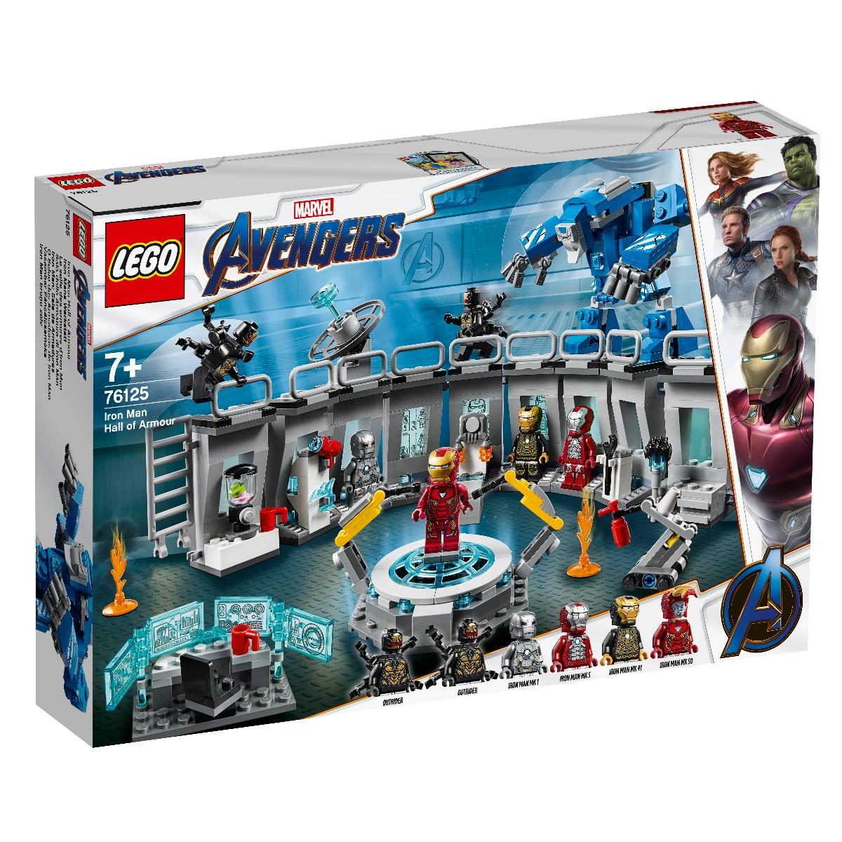 LEGO® Marvel Avengers - Iron Man - Sala Armurilor (76125)