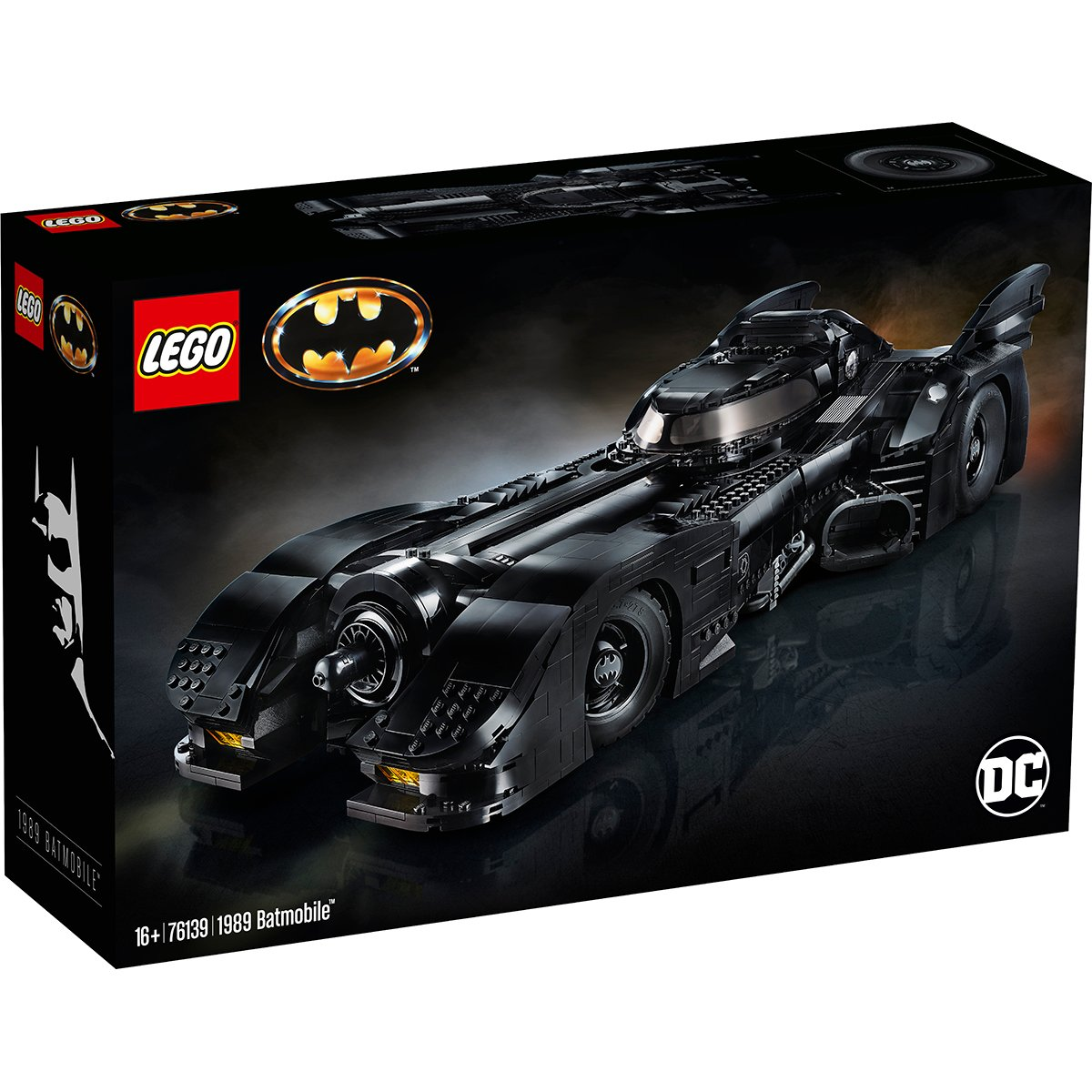 LEGO® DC Comics Super Heroes – 1989 Batmobile™ (76139)