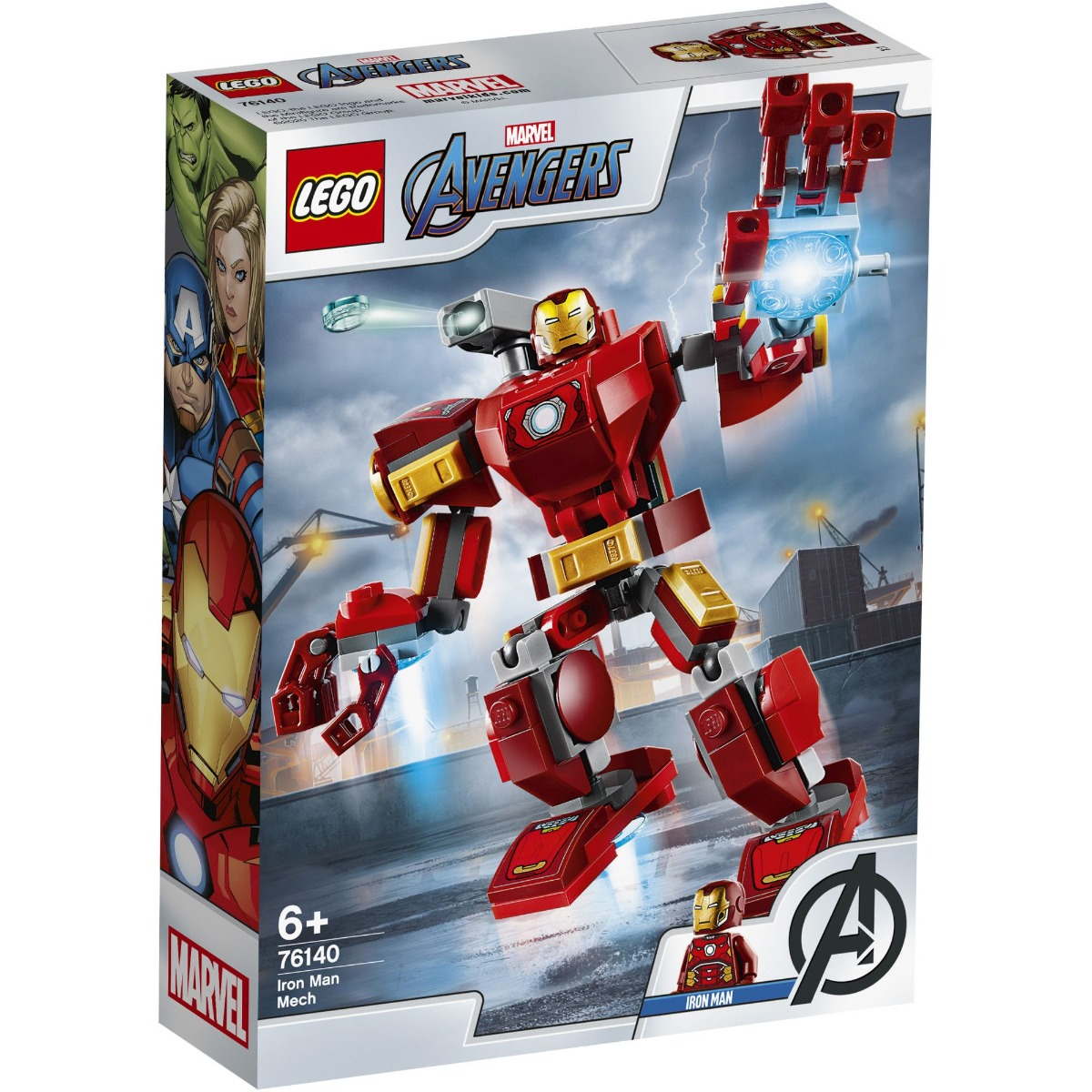 LEGO® Marvel Super Heroes - Robot Iron Man (76140)