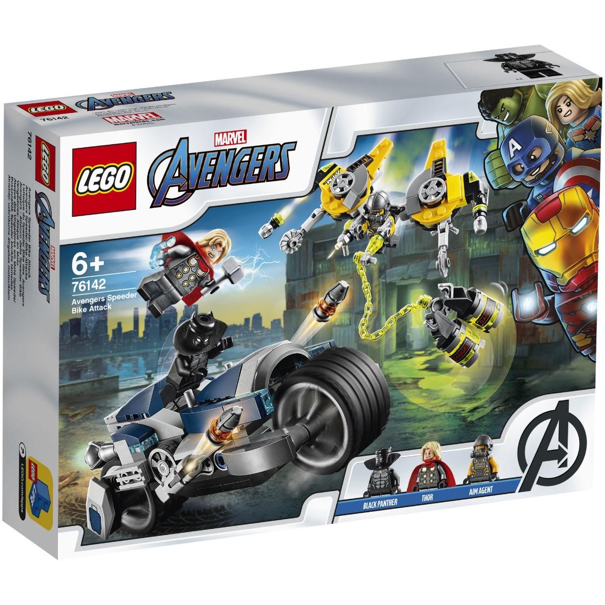 LEGO® Super Heroes - Atacul Razbunatorilor cu motociclete (76142)