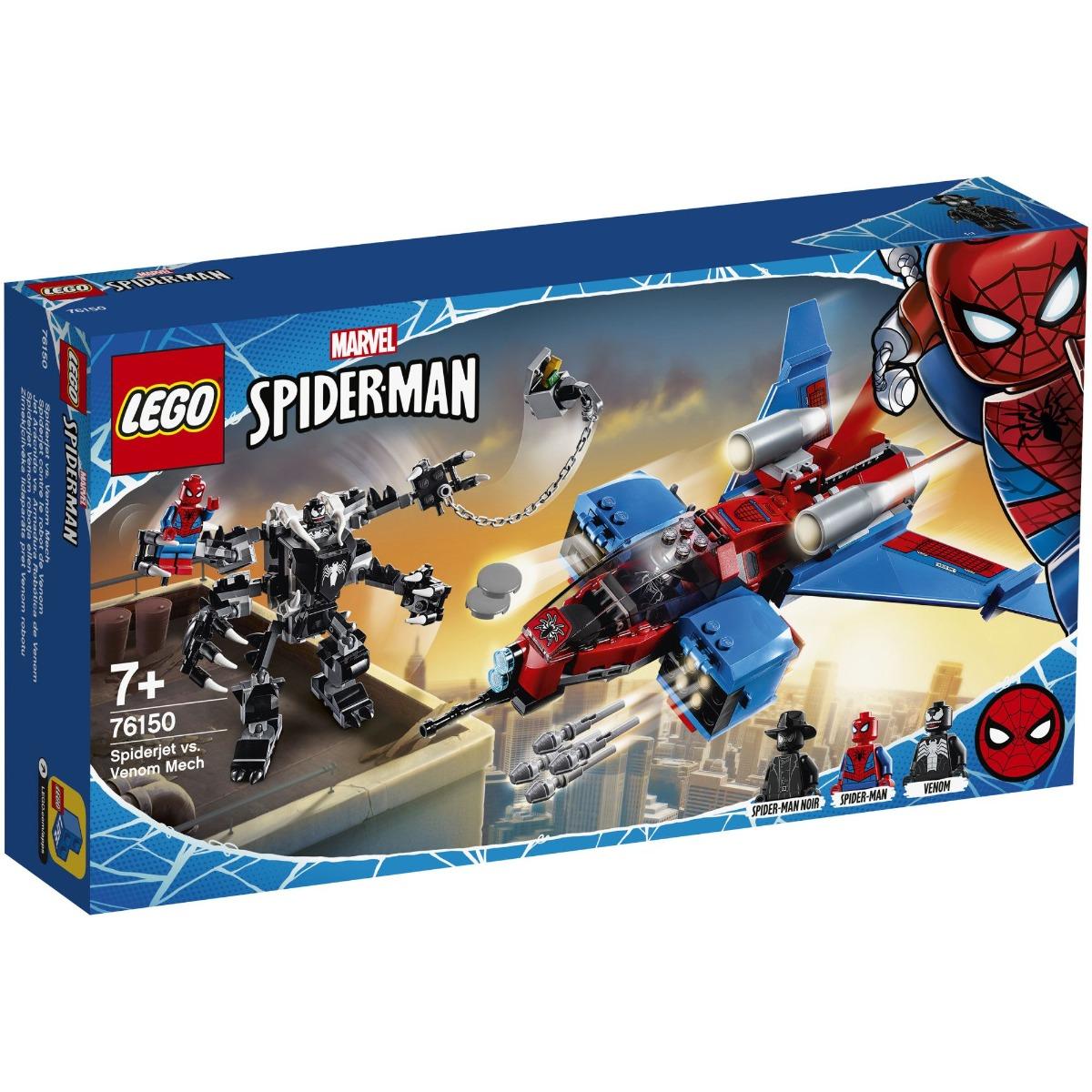LEGO® Super Heroes - Spiderjet contra Robotul Venom (76150)