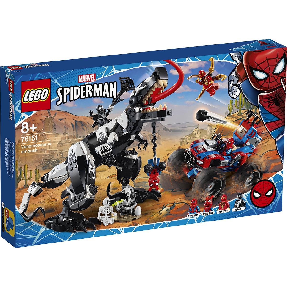 LEGO® Marvel Super Heroes - Ambuscada Venomosaurus (76151)
