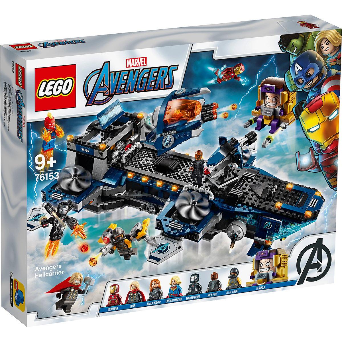 LEGO® Marvel Avengers - Elicopter de transport al Razbunatorilor (76153)