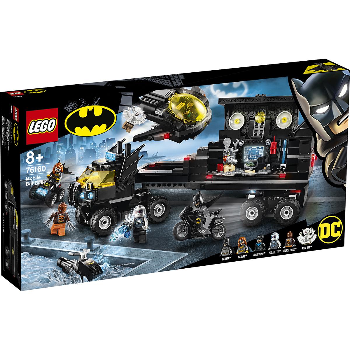 LEGO® DC Comics Super Heroes - Baza mobila (76160)