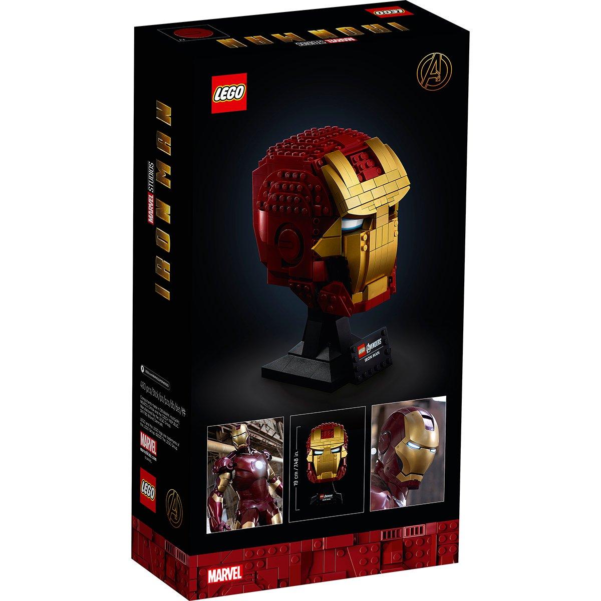 Lego® Marvel Super Heroes/marvel Avengers Movie 4 - Casca Iron Man (76165)