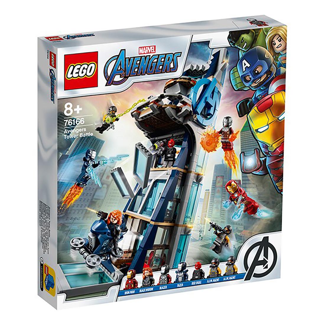 LEGO® Marvel Super Heroes - Lupta din turn a Razbunatorilor (76166)