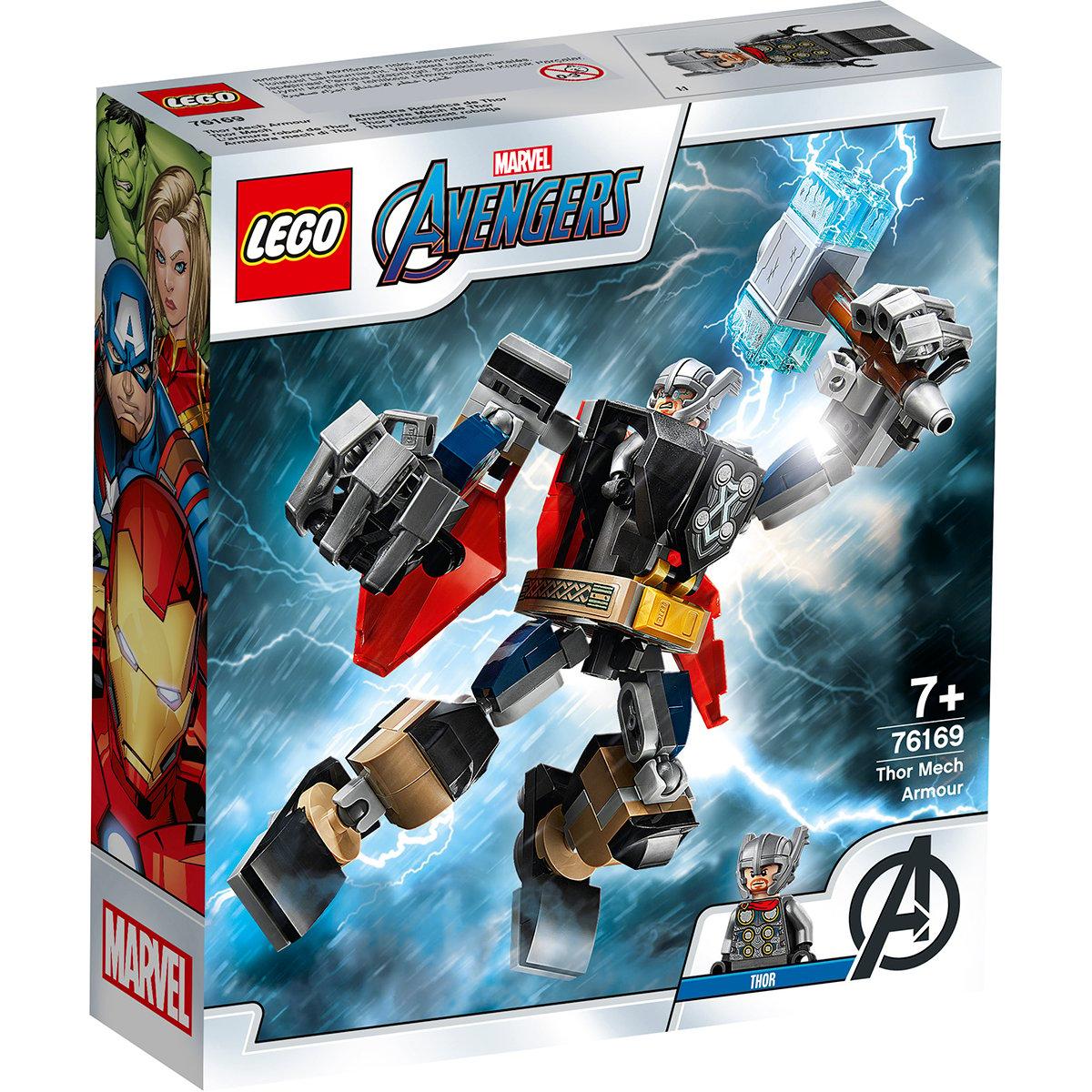 LEGO® Marvel Super Heroes - Armura lui Thor (76169)