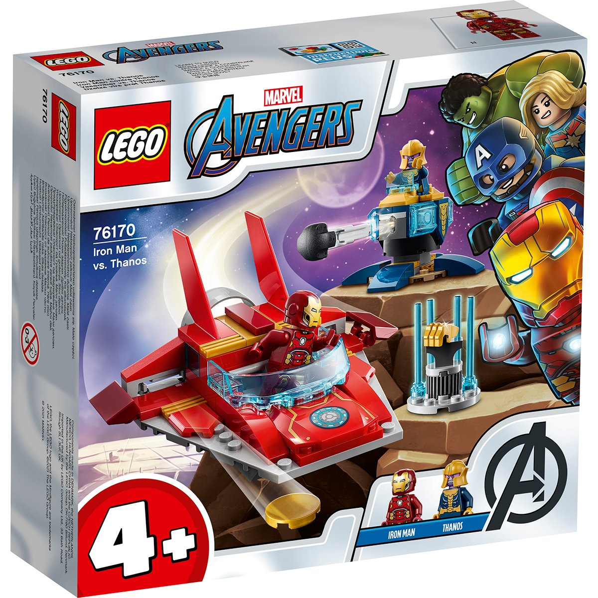 LEGO® Marvel Avengers - Iron Man contra Thanos (76170)