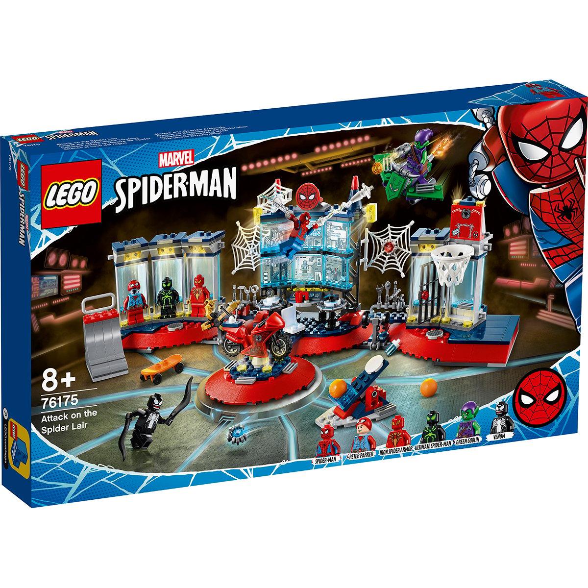 LEGO® Marvel Super Heroes - Atac la adapostul paianjenului (76175)