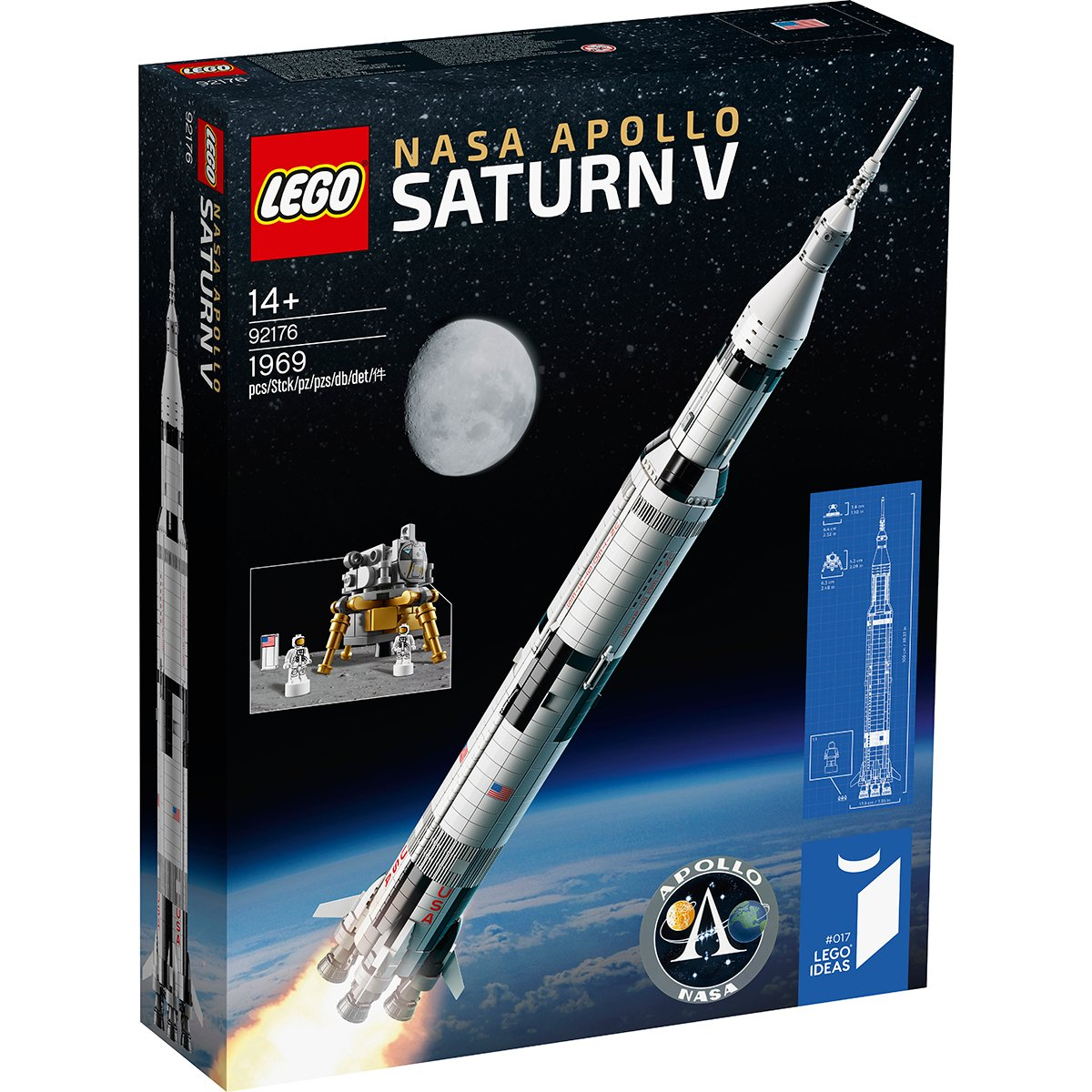 LEGO® Ideas - NASA Apollo Saturn V (92176)