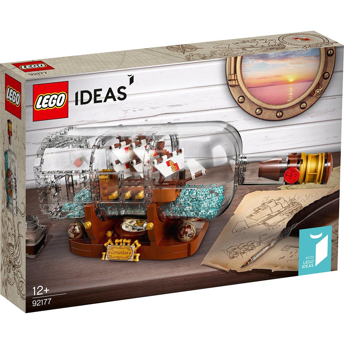 LEGO® Ideas - Vaporul din sticla (92177)
