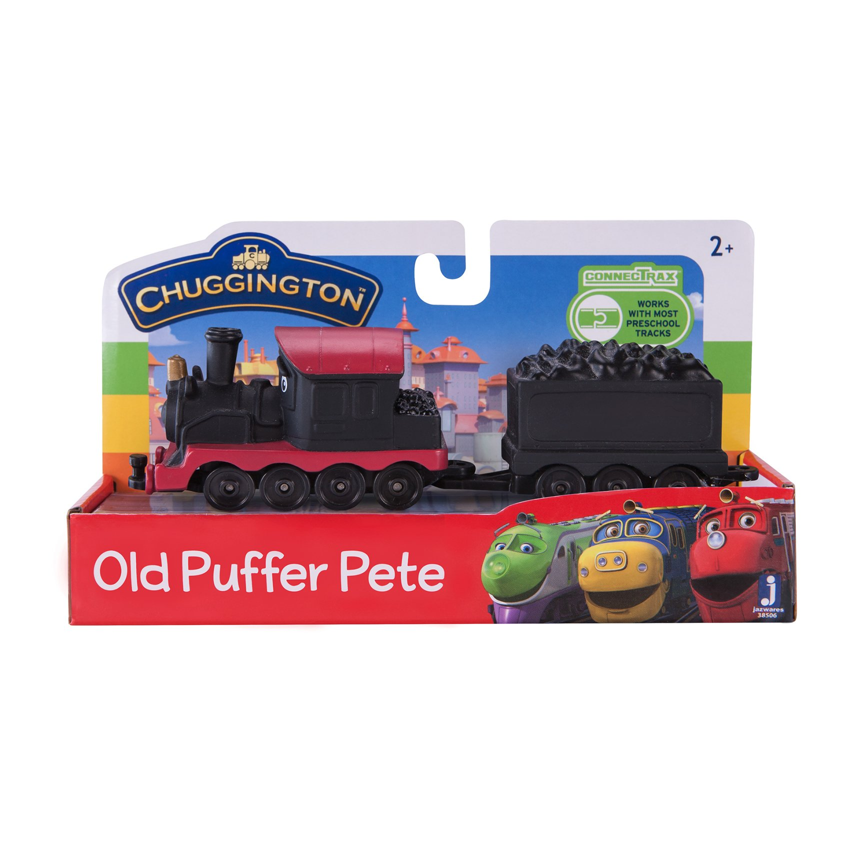 Locomotiva Chuggington - Old Puffer Pete