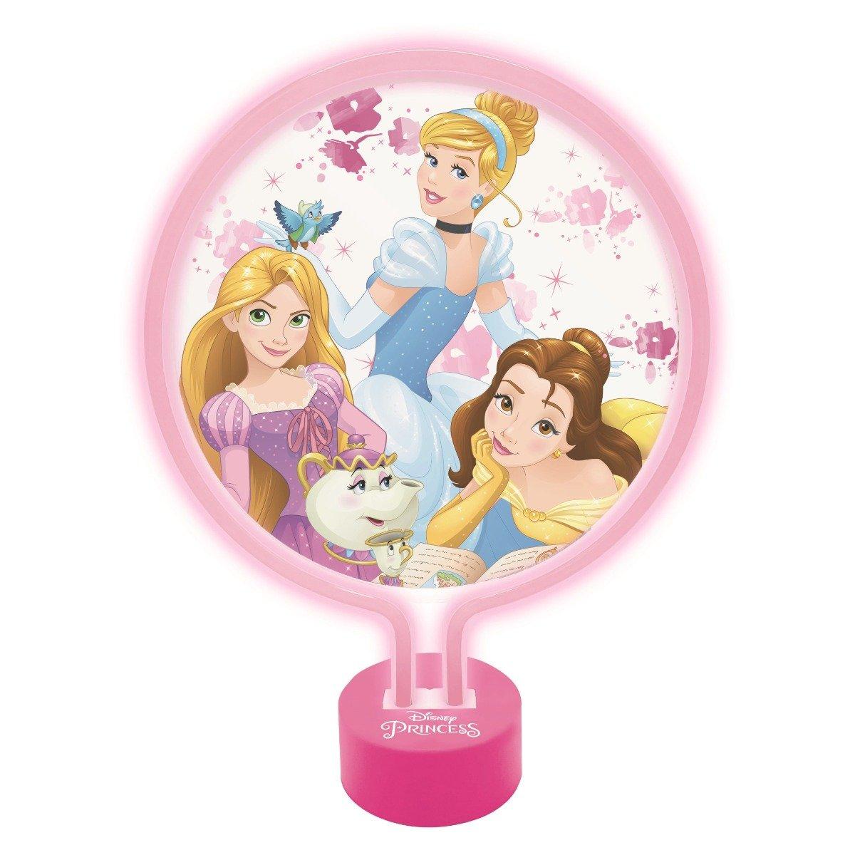 Veioza decorativa Neon Disney Princess