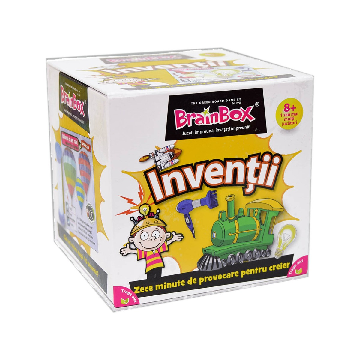 Joc educativ BrainBox - Inventii