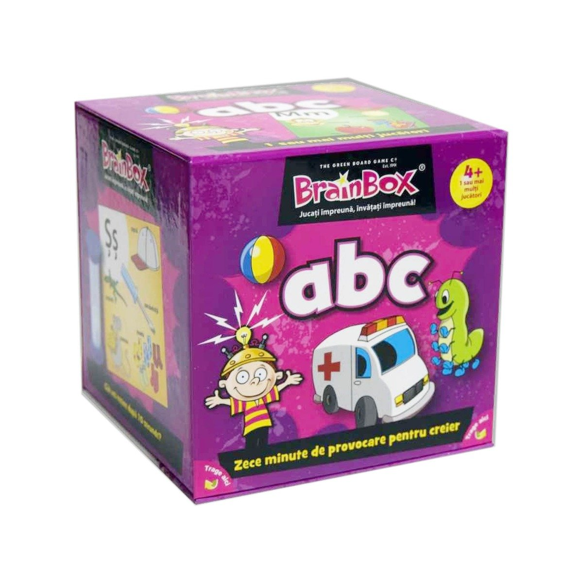Joc educativ BrainBox - ABC