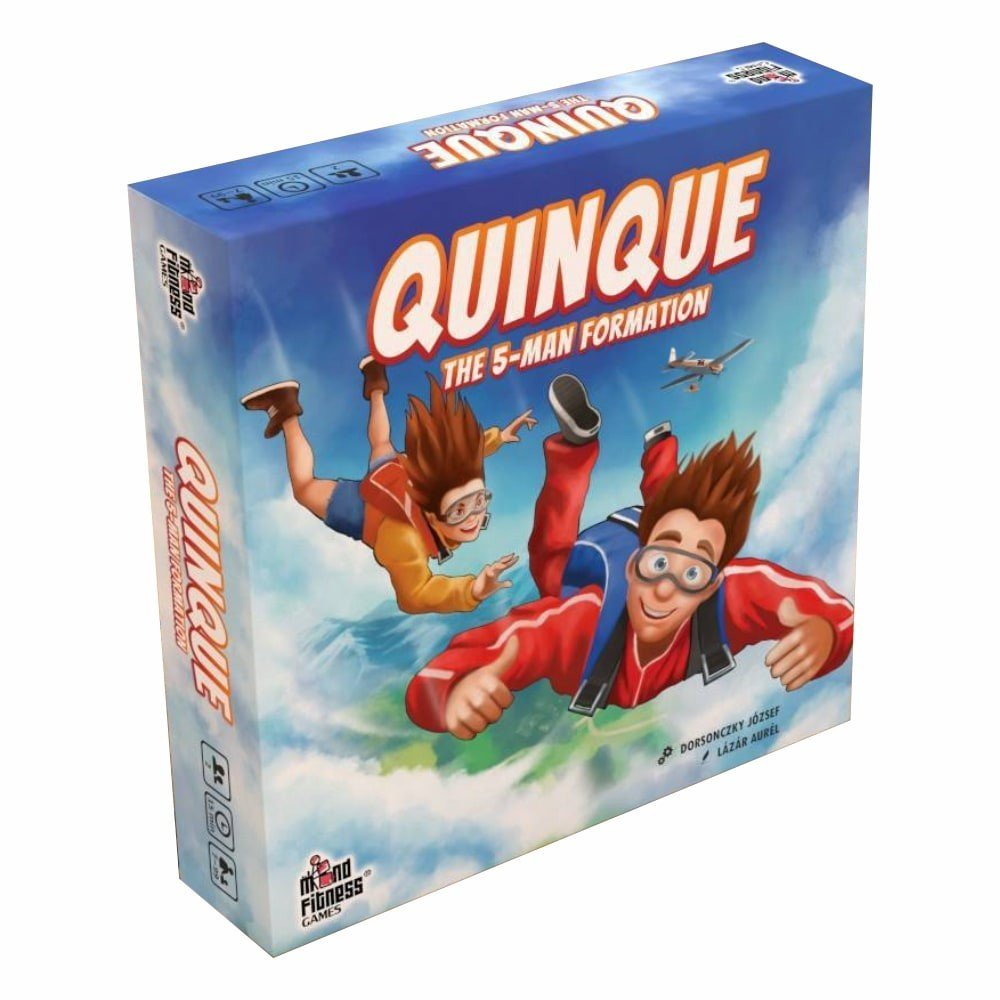 Joc de societate Mind Fitness Games, Quinque