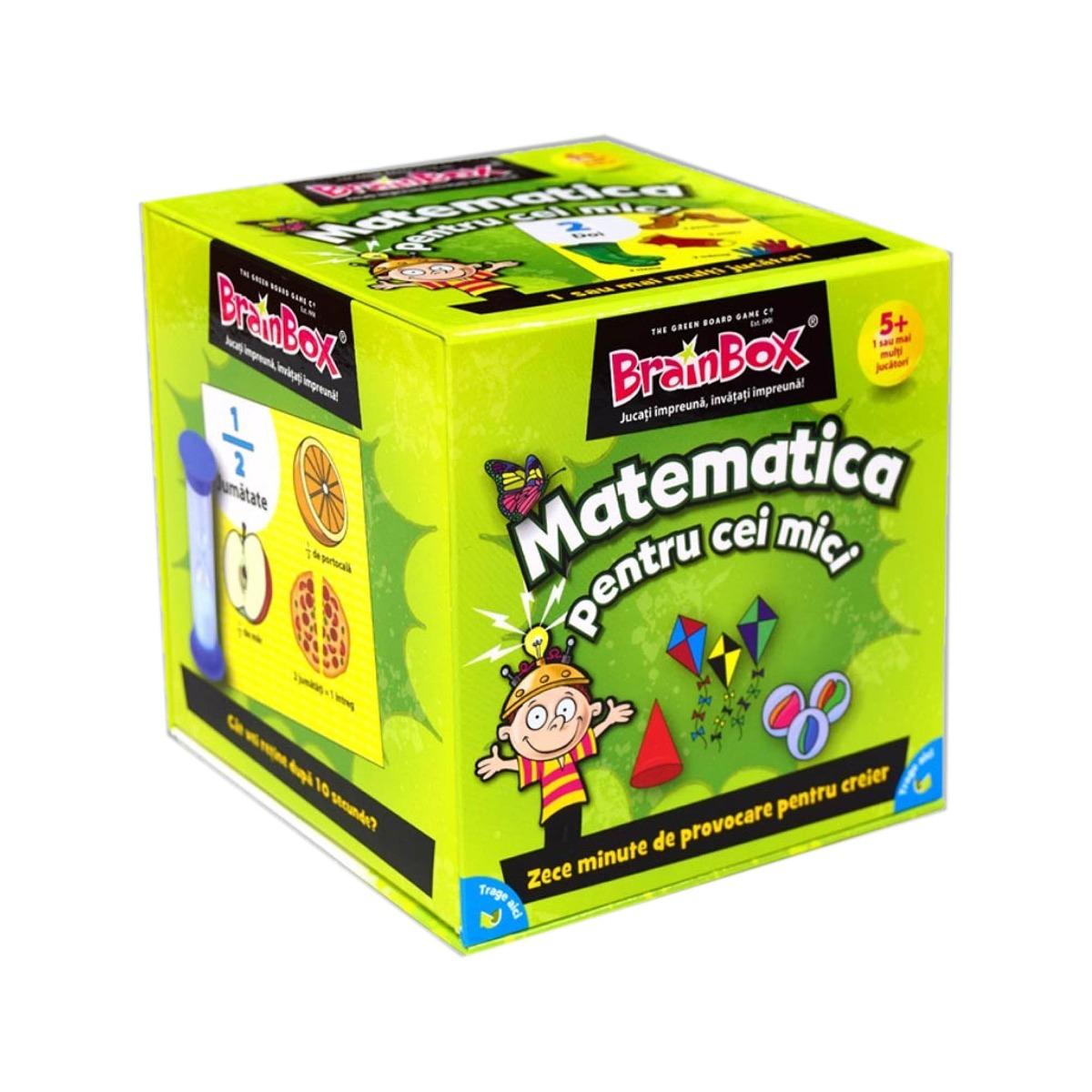 Joc educativ BrainBox - Matermatica pentru cei mici