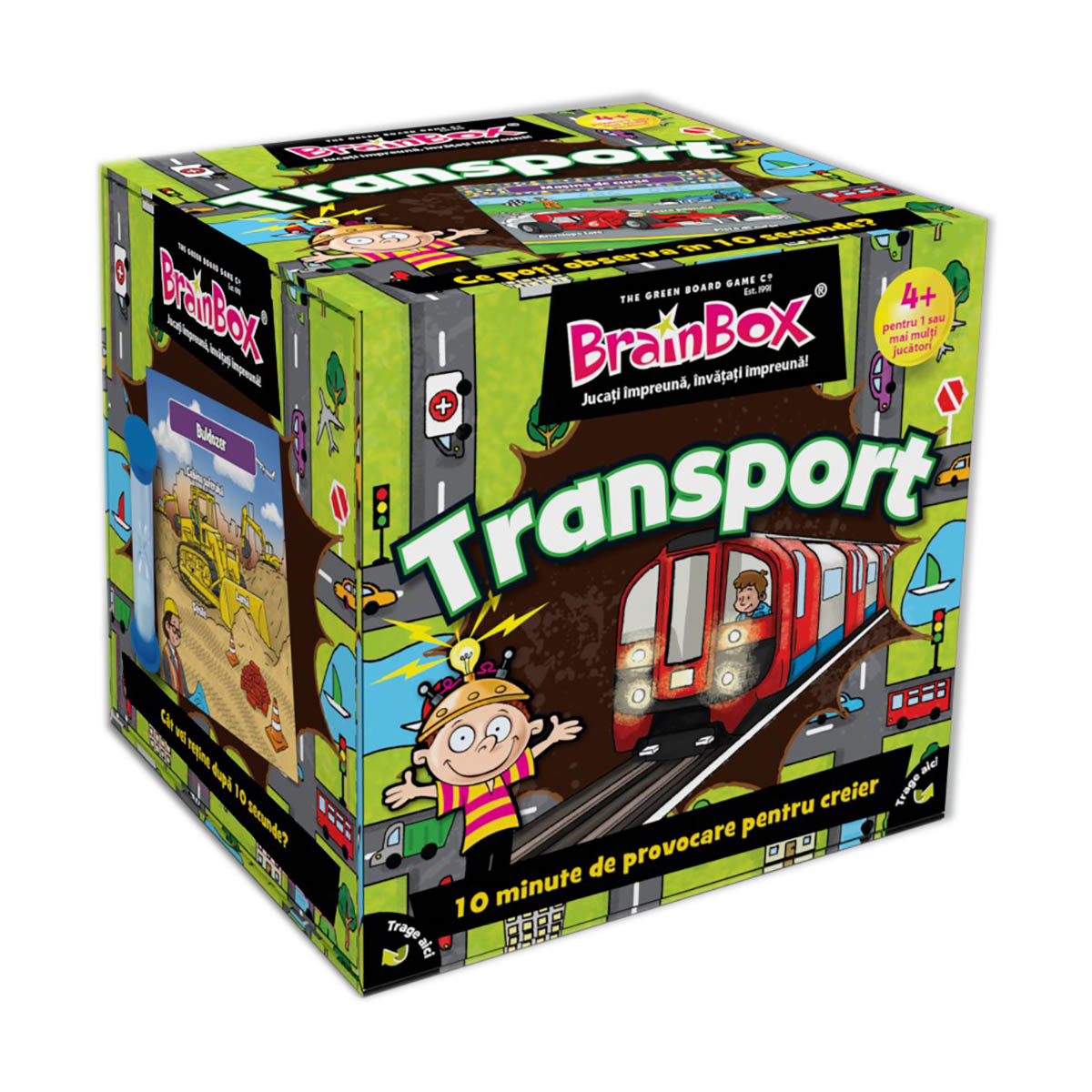 Joc educativ BrainBox - Transport