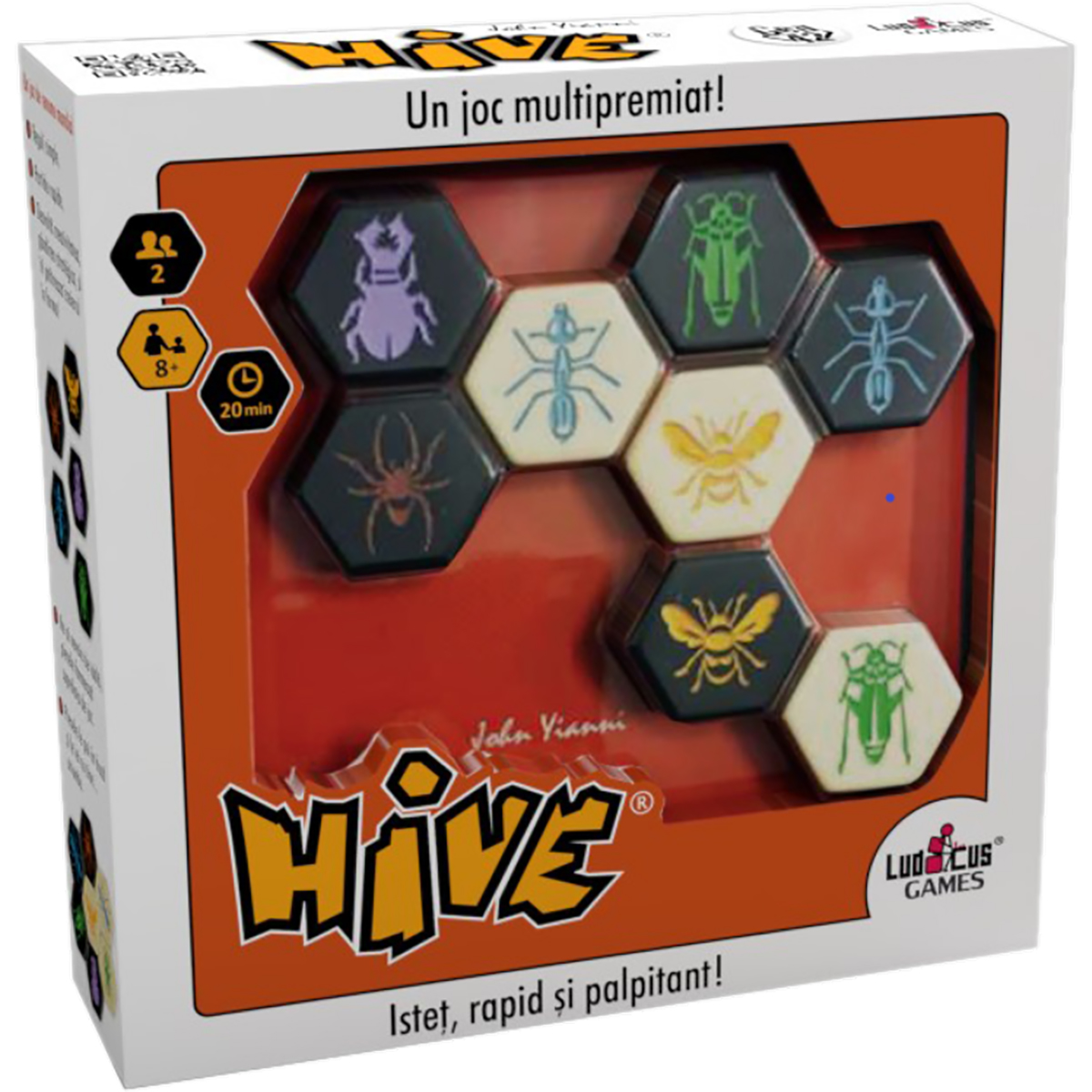 Joc de societate Ludicus Games, Hive