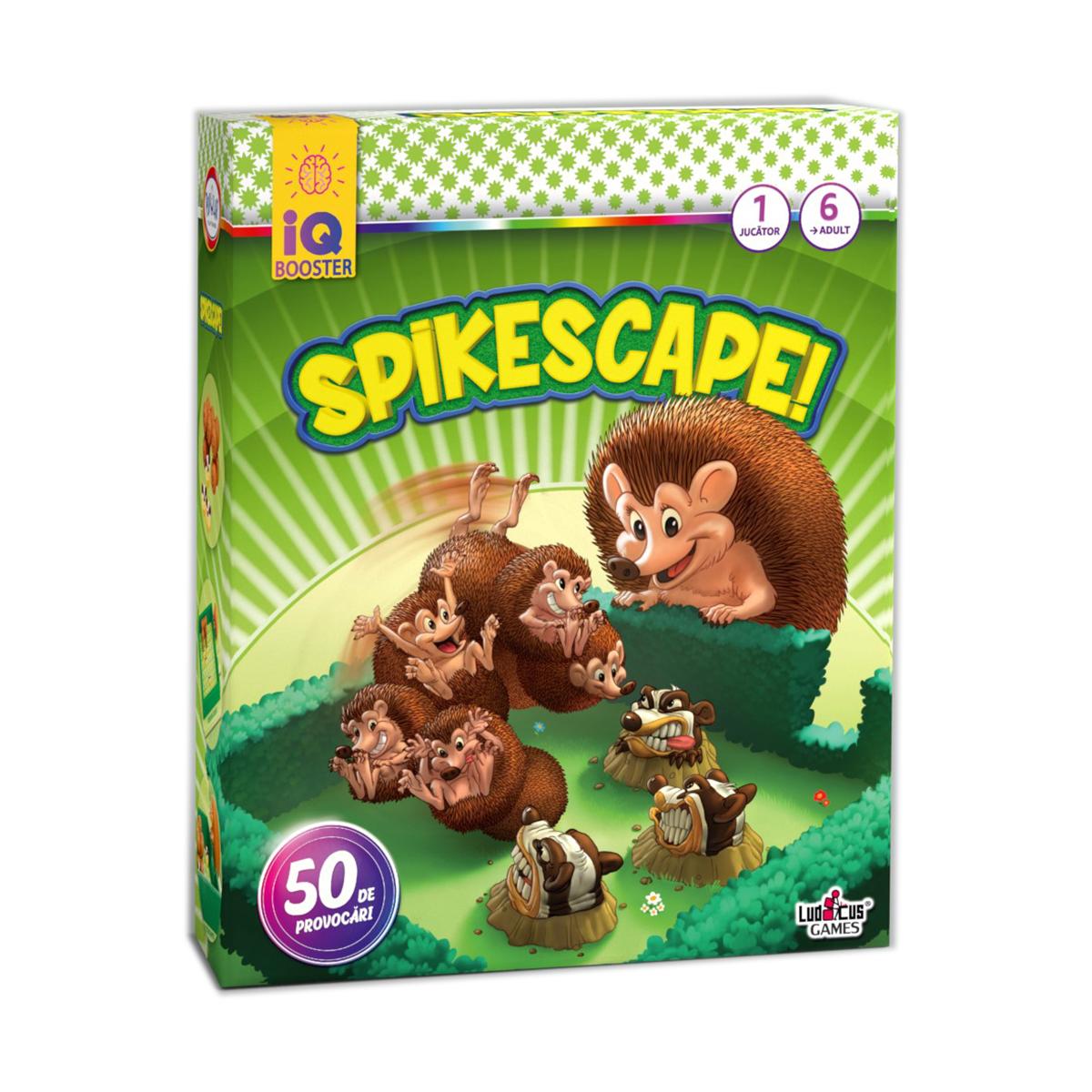 Joc educativ IQ Booster - Spike Scape