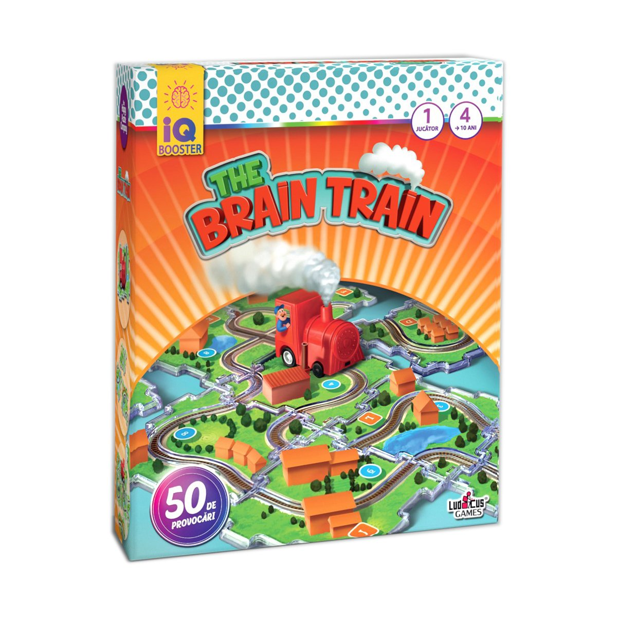 Joc educativ IQ Booster - The Brain Train