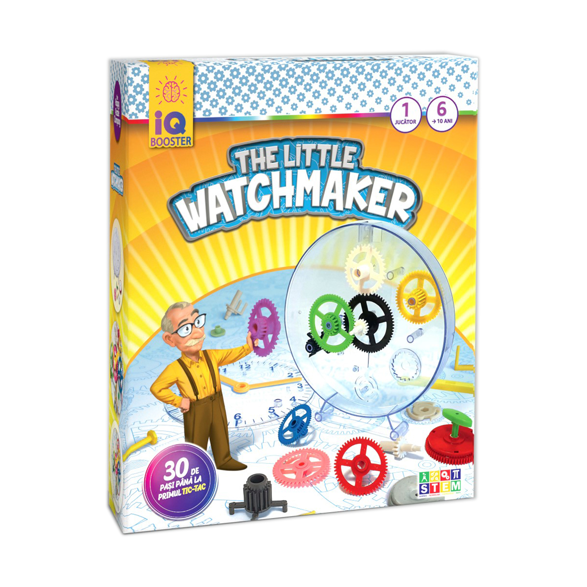 Joc Educativ Iq Booster - The Little Watchmaker